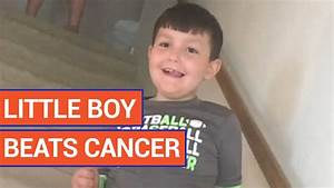 Little Boy Reacts To Finding Out He Beat Cancer Video 2016