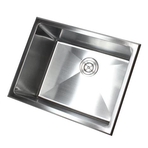 Stainless Steel Utility Sink Drop In 23 inch undermount drop in stainless steel single bowl