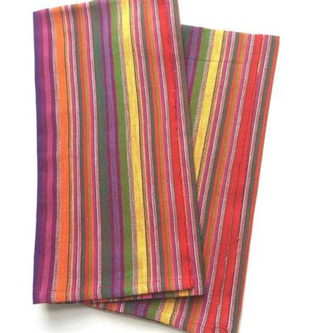 colorful kitchen towels bright multi color kitchen towels ethically sourced set 2355