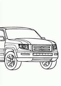 cars coloring pages online and printables cars With honda ridgeline car