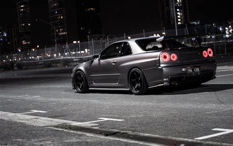 Nissan, Skyline R34, Jdm, Japanese Cars, Import, Tuner Car