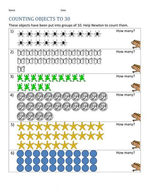 Number 30 Worksheet For Kindergarten Number Best Free Printable Worksheets