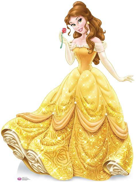 disney princess belle cardboard standup  tall