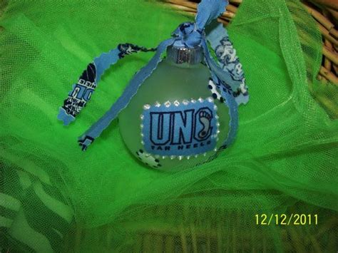 unc tarheels christmas ornament christmas ornaments