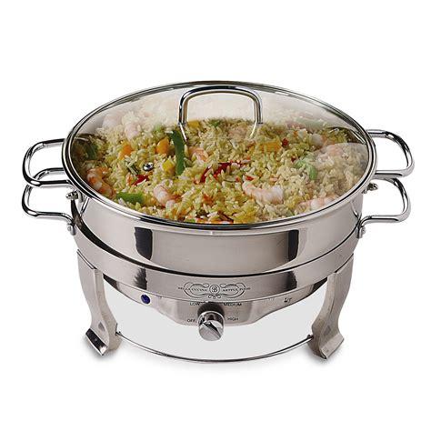 Bella Cucina 13423 5qt Round Chafing Dish