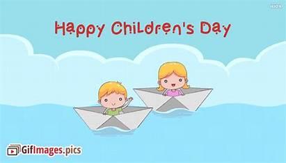Happy Children Diwas Animated Childrens Bal Greetings