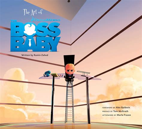 art   boss baby book  zahed ramin alec