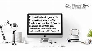 Was Ist Ein Vlogger : produkttester gesucht produkttest f r euch wir suchen 3 bio vegan food blogger oder ~ Orissabook.com Haus und Dekorationen