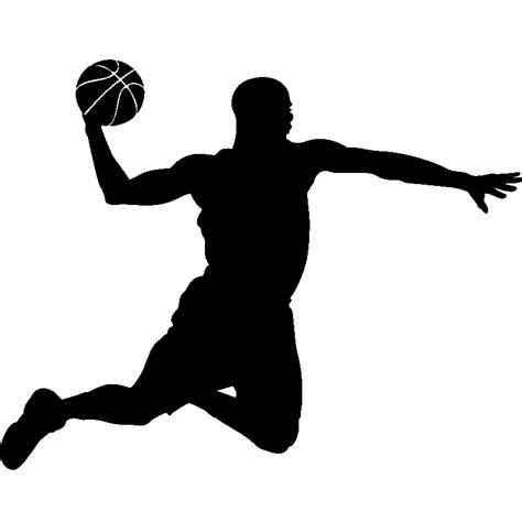 panier basket chambre stickers de silhouettes et personnages sticker