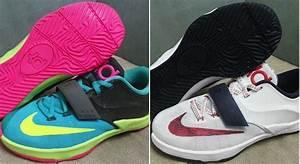 Sneak-A-Peek: Two Colorways Of The Upcoming Nike KD 7
