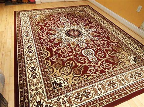 Living Room With Burgundy Rug by Area Rug Traditional Design 8 215 11 Rug Burgundy 8 215 10