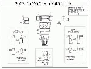2003 Toyota Corolla Interior Fuse Box Diagram