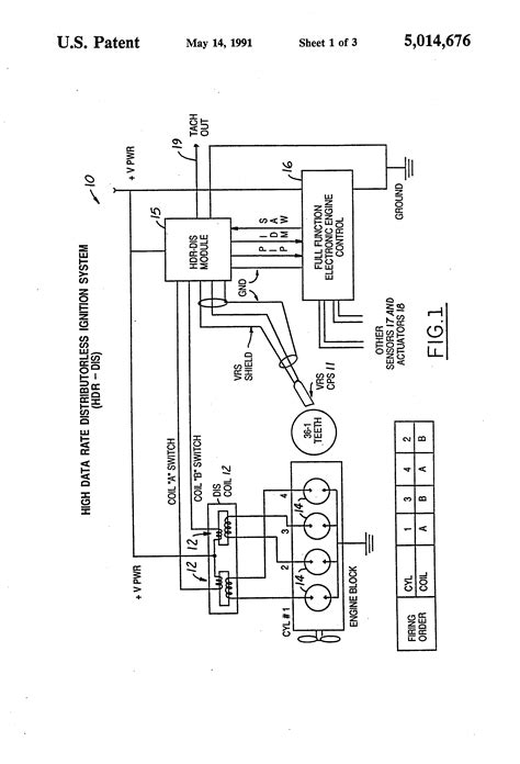 89 Peterbilt 379 Wiring Diagram by Patent Us5014676 Ignition System With Repetitive Sparks