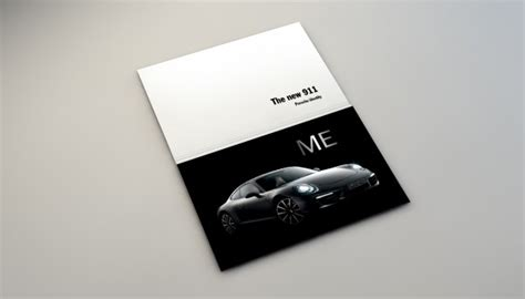 Porsche - Print - Exelmans Graphics - Visual Communication