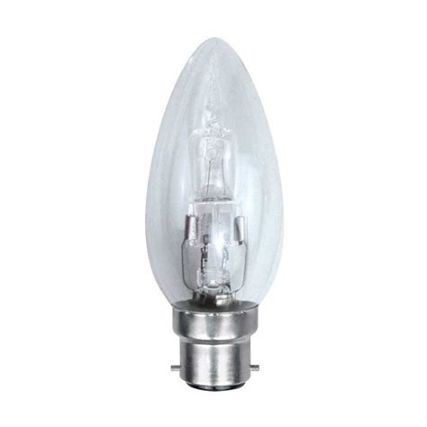 Dimmable Energy Saving Halogen Candle Bulb 42w Bc B22d