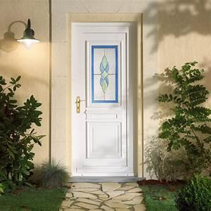 Porte D Entrée Pvc : portes d 39 entr e pvc bois alu aluminium emf17 espace ~ Dailycaller-alerts.com Idées de Décoration