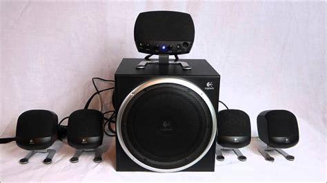 5 1 surround system logitech z 640 5 1 surround sound system