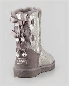 ugg boots sale grey ugg australia bailey bow back boot gray