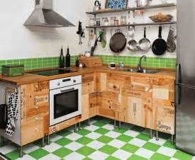 diy kitchen floor ideas rustic wood storage on tile floor inside diy small kitchen with single sink near gas stove plus