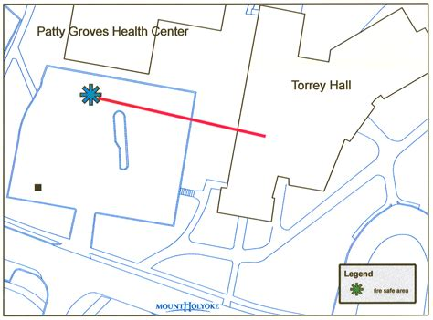 Reslife Mount Holyoke Floor Plans by Residence Safety Evacuation Locations Mount