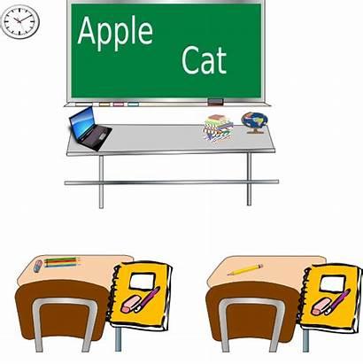 Classroom Clip Talk Clipart Empty Vector Preschool