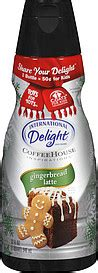 When it comes to coffee, everyone seems to like it a different way. International Delight Coffee Creamer Coffeehouse Inspirations Gingerbread Latte 1.0 Qt Nutrition ...
