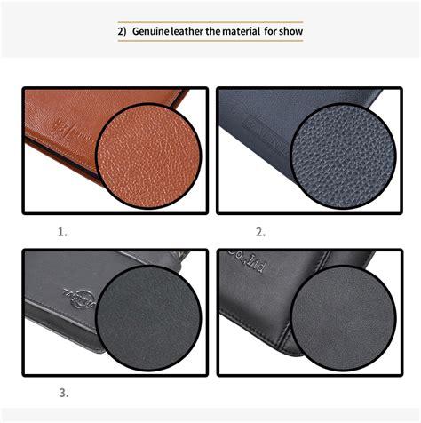 custom genuine leather ipad case clipbaord padfolios