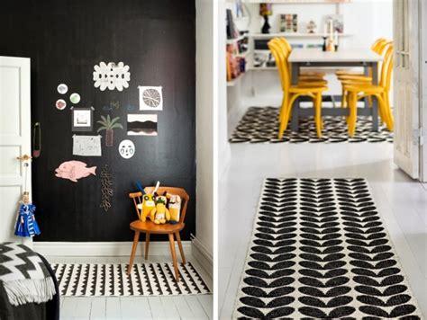 o 249 trouver un tapis graphique noir et blanc joli place