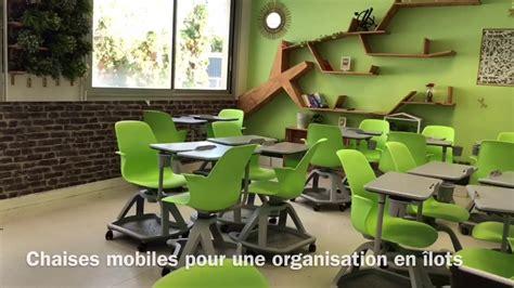salle de classe innovante