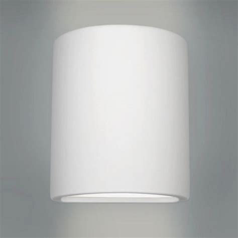 buy modern curved ceramic indoor wall light white from
