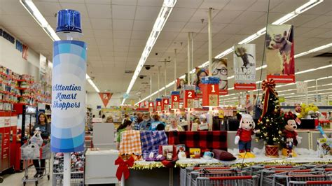 Kmart Blue Light by Shoppers Flock To Black Friday Deals Local News