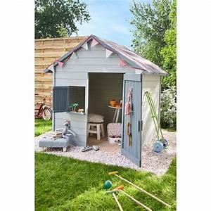 Maison Enfant Castorama : maisonnette bois igor soulet 1 9 m leroy merlin ~ Premium-room.com Idées de Décoration