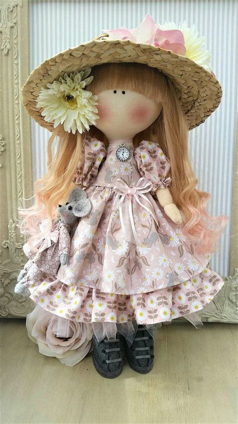 cloth doll handmade doll fabric doll tilda doll rag doll