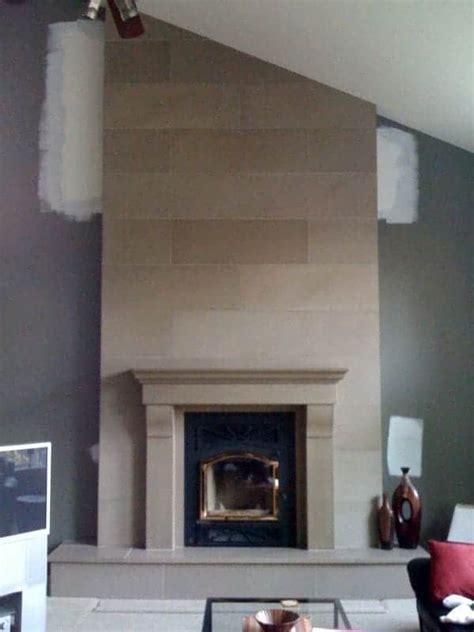 Harmonious Decor Above Fireplace Mantel Images