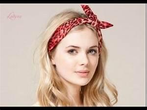 80's Hairstyle Headband - YouTube