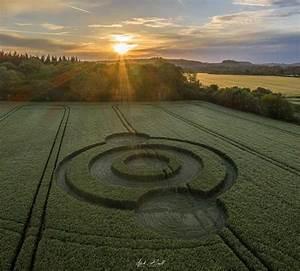 Crop Circle At Norridge Wood  Nr Warminster  Wiltshire