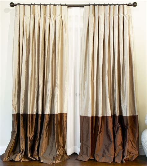 Silk Drapes by These Types Of Curtains Are More Than Just Window Dressing