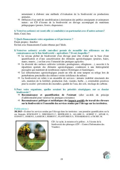 chambre d agriculture drome recueil des actions des partenaires agricoles et ruraux en