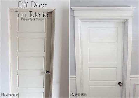 thrifty decor door trim remodelaholic best diy door tips installation framing