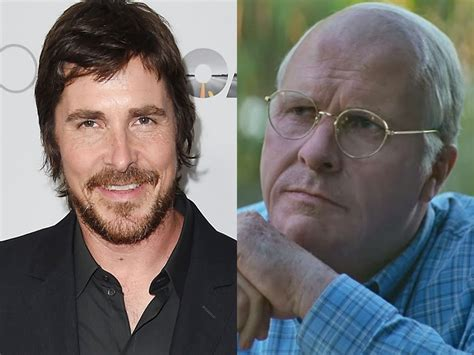 christian bale  completely unrecognizable  dick