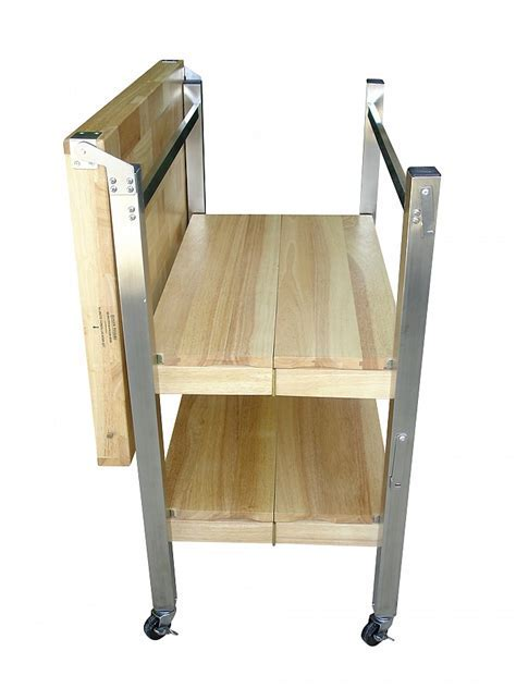 Folding Kitchen Cart   Oasis Concepts Flip & Fold