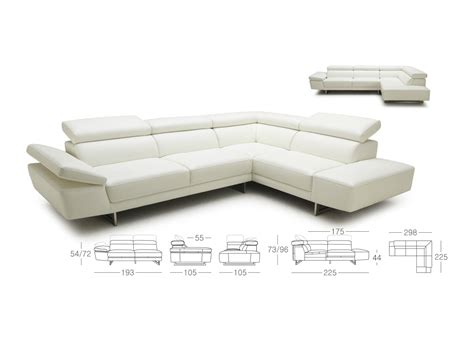 'koo' Corner Sofa With Adjustable Back & Arms