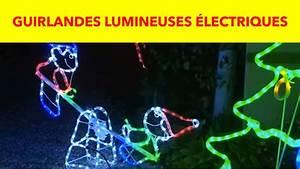 Guirlande Electrique Noel : gifi guirlandes lumineuses lectriques youtube ~ Teatrodelosmanantiales.com Idées de Décoration