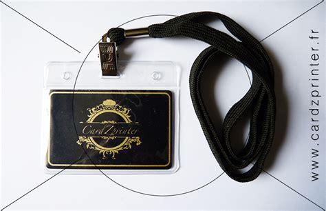 porte badge tour de cou porte badge professionnel cordon noir tour de cou 224 0 90 l unit 233