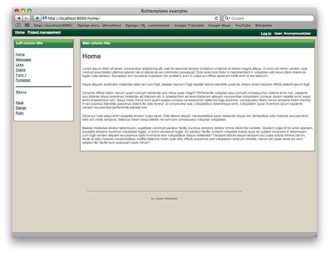 Django Template Dictionary by Skins Django Richtemplates V0 3 12 Documentation