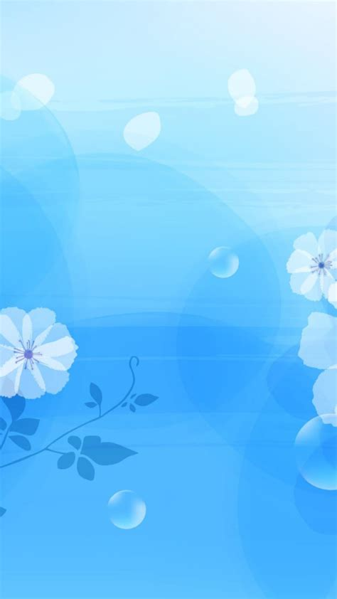 wallpaper android biru kampung wallpaper