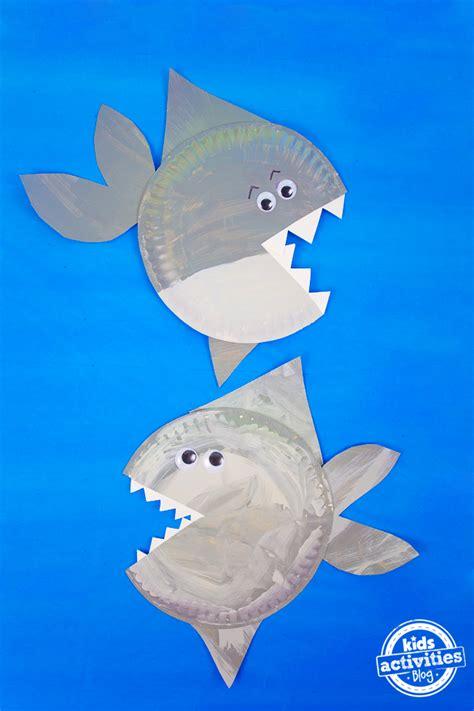 shark paper plate craft 850 | Paper Plate Shark 3 copy