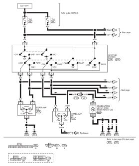 1998 nissan maxima wiring diagram electrical system 1998 nissan maxima wiring diagram and electrical system