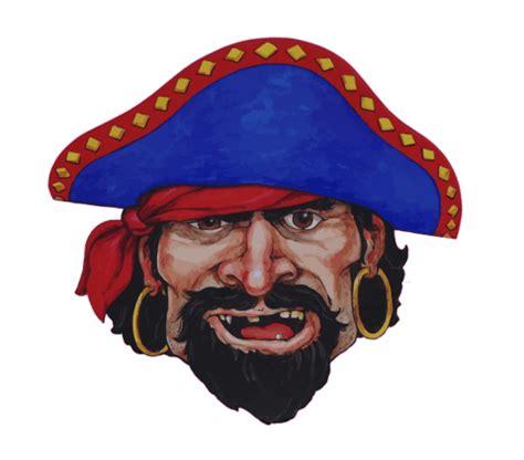 pirate paper mask   boy  printable papercraft templates