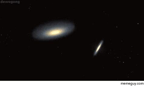 Galaxies Collide Milky Way Andromeda Billion